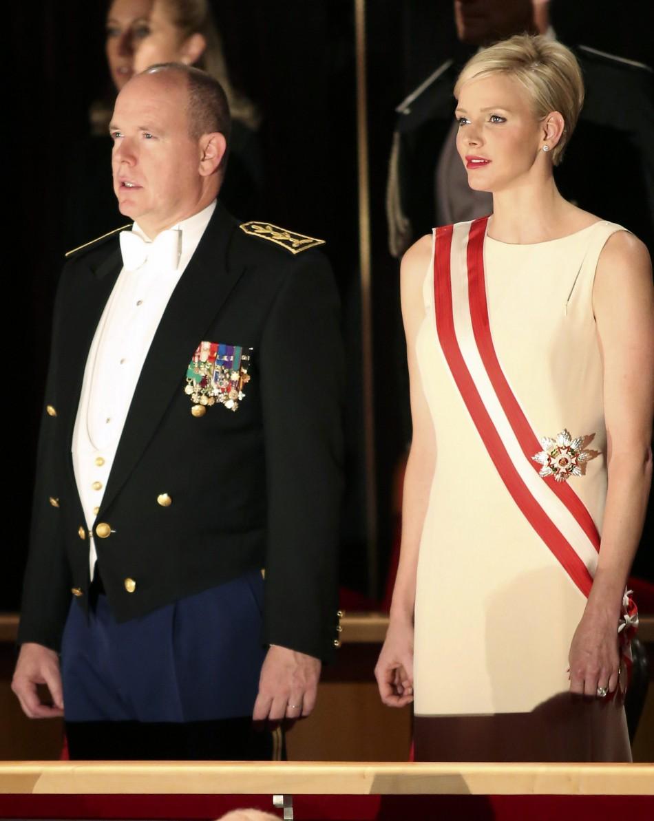 Princess Charlene And Prince Albert Celebrate Monaco