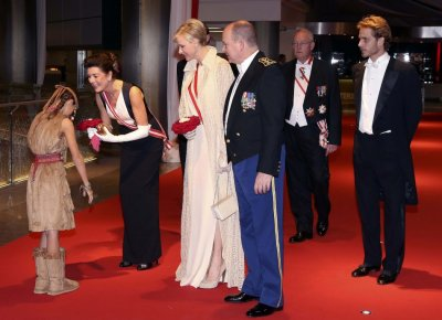 Princess Charlene, Prince Albert Celebrate Monaco National Day