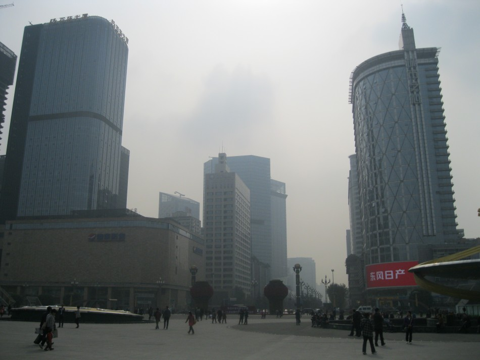 Tianfu Square in Chengdu, China (Photo: Lianna Brinded)