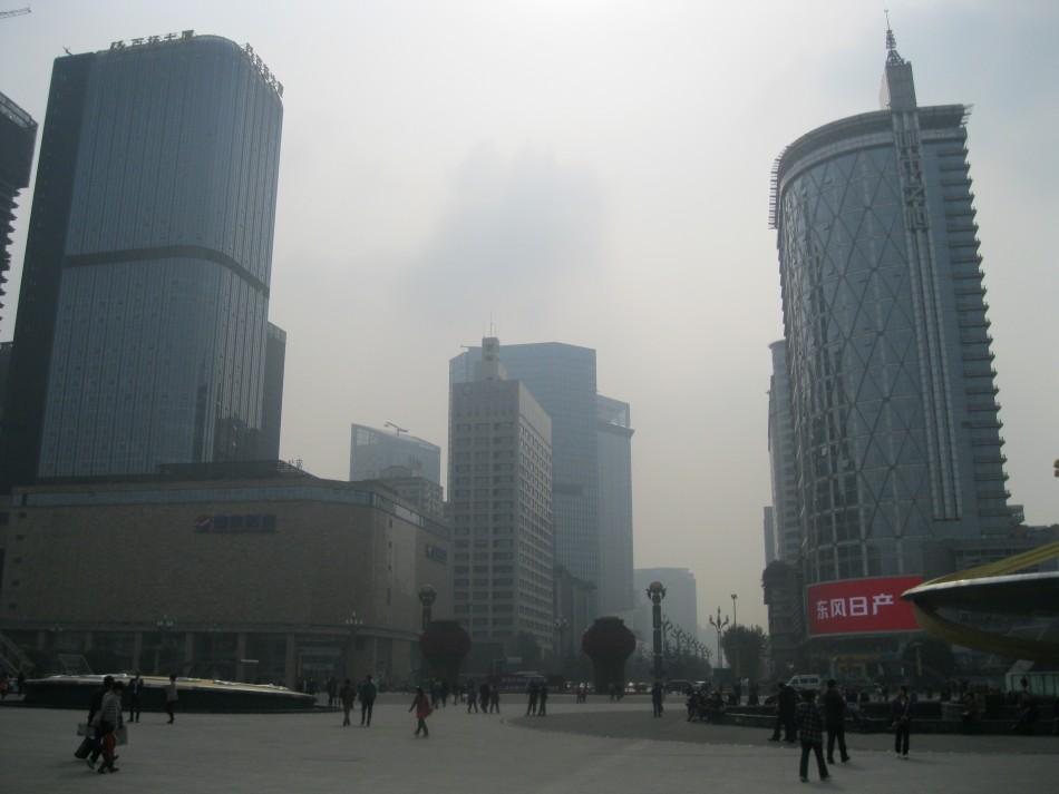 Tianfu Square in Chengdu, China (Photo: Lianna Brinded)