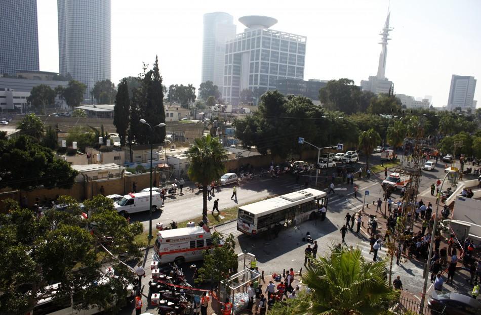 Tel Aviv Bus Bomb
