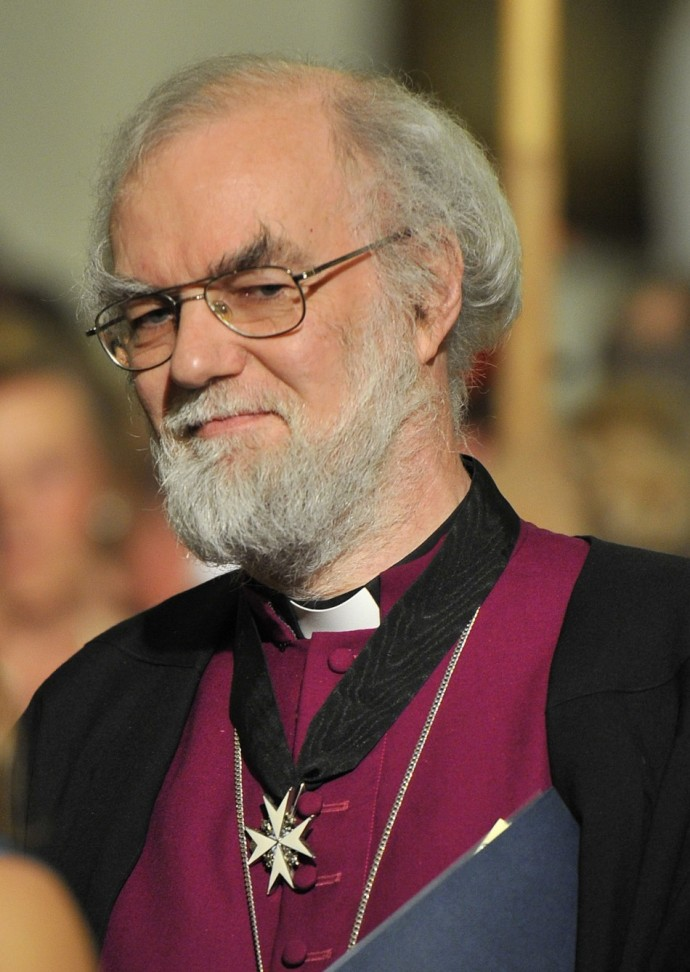 Archbishop of Canterbury Dr. Rowan Williams