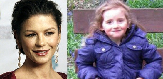 Catherine Zeta Jones and April Jones