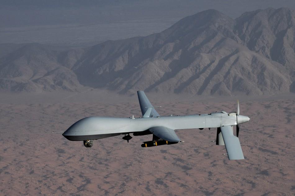 An MQ-1 Predator unmanned aircraft