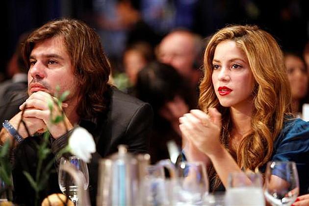 Antonio de la Rúa and Shakira