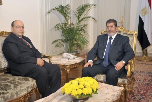 Egypt's President Mohamed Mursi