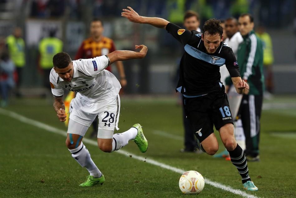 Lazio v Tottenham