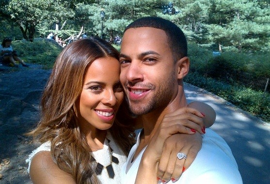 Rochelle and JLS Marvin Humes