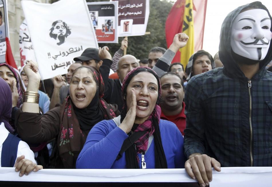 Egypt Mursi's Decree