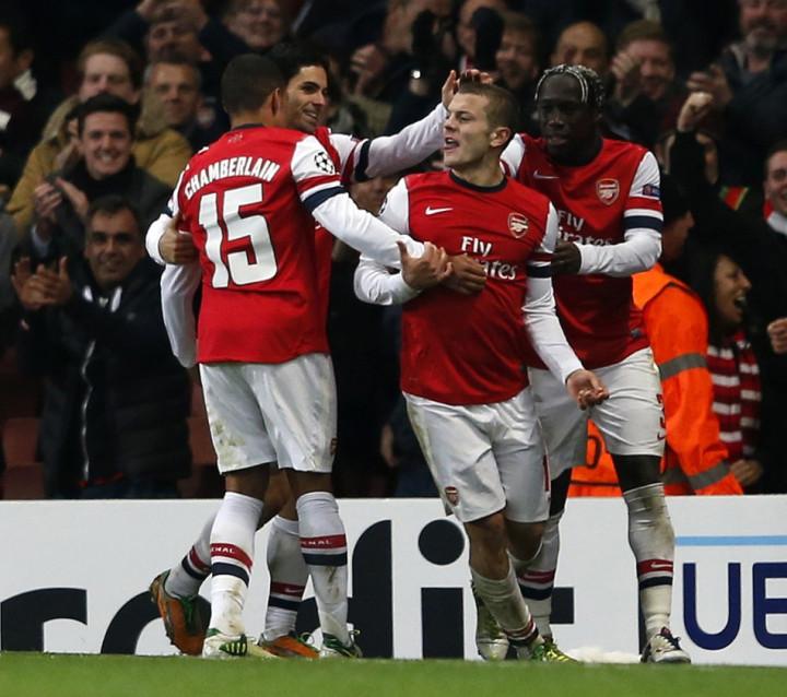 Arsenal v Montpellier