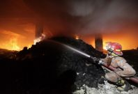 Bangladesh clothes factory fire