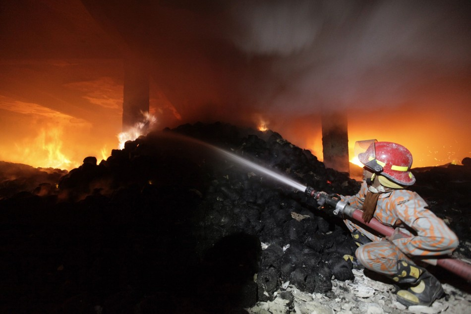 Bangladesh clothes factory fire
