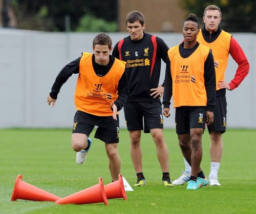 Joe Allen training