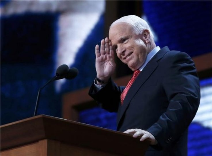 John McCain at RNC