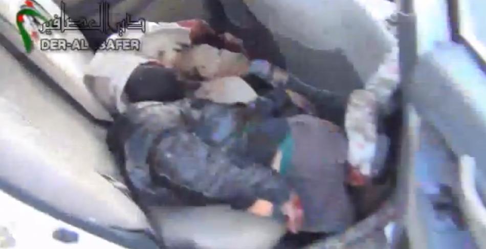 Syria cluster bomb