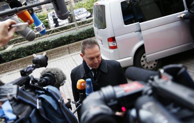 Greece's Finance Minister Stournaras