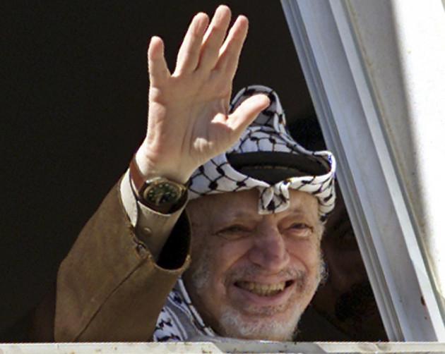 Late Palestinian President Yasser Arafat