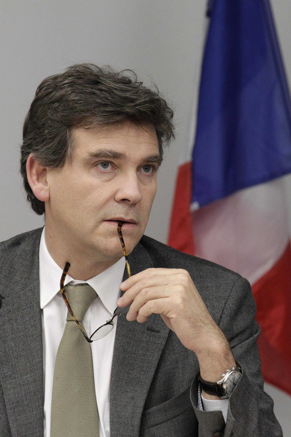 France's Minister for Industrial Recovery Montebourg