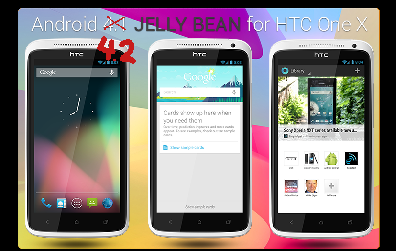 HTC One X Gets Android 4.2 Jelly Bean Update Unofficially ...
