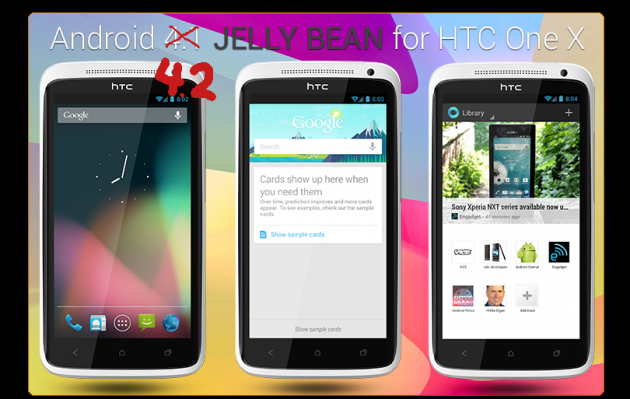 HTC One X Gets Android 4.2 Jelly Bean Update Unofficially [How to Install]