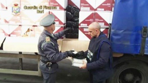 Drugs bust police with haul