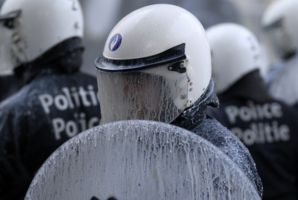 Milky policeman