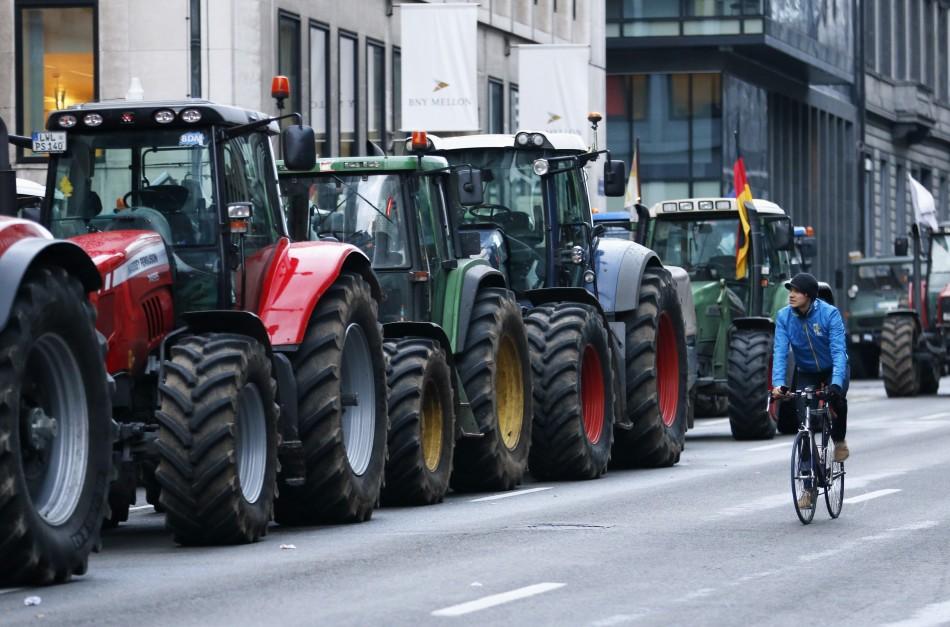 Tractors' line