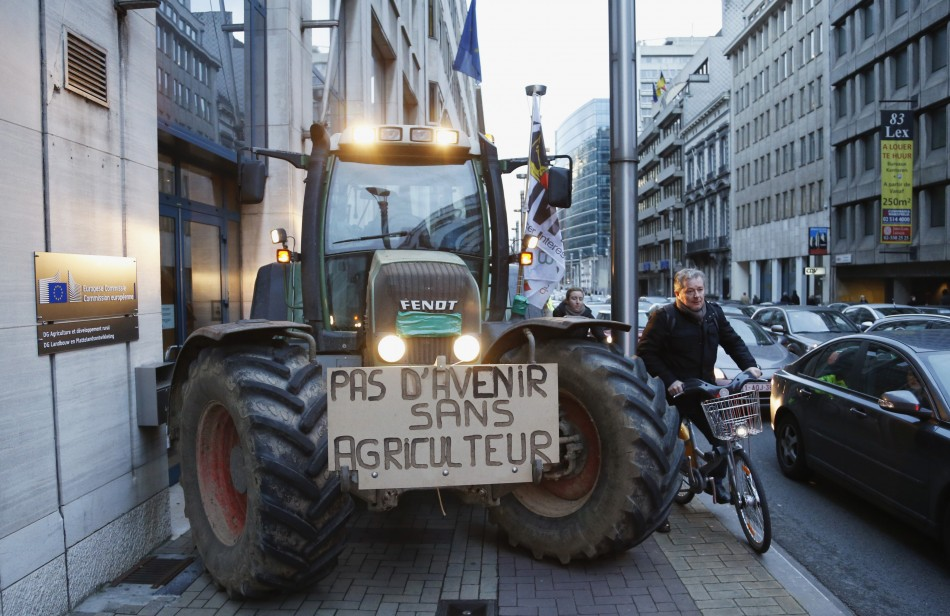 No future without farmers