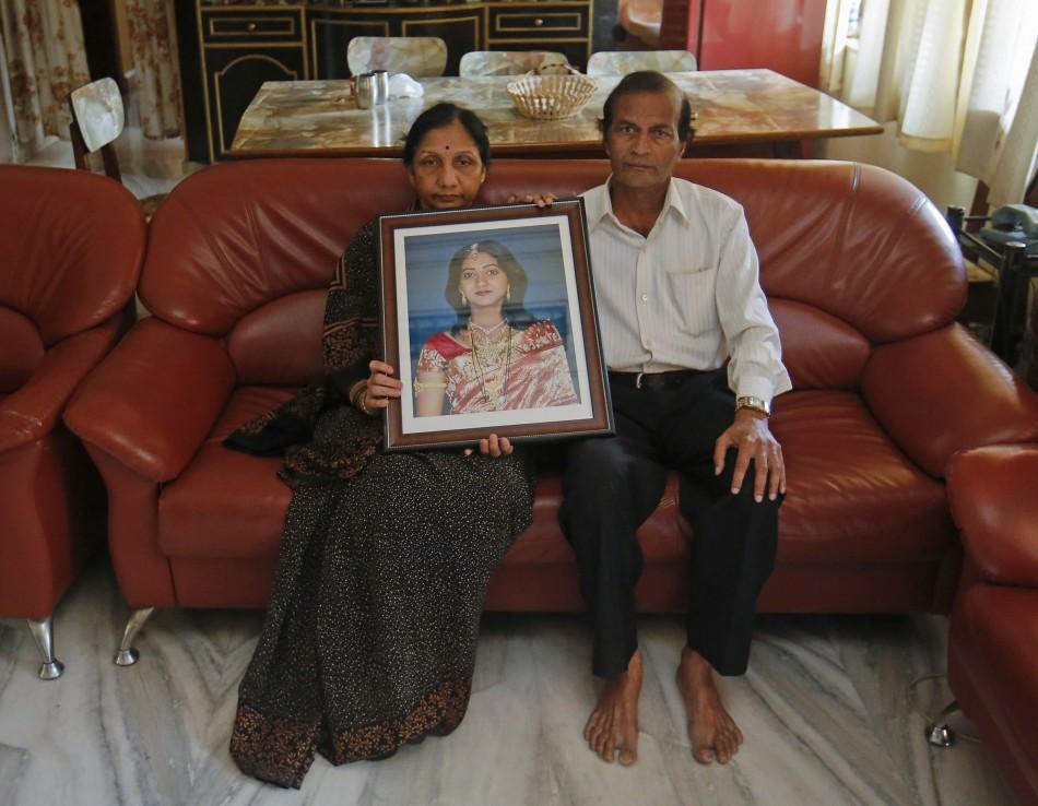 Savita Halappanavar's parents
