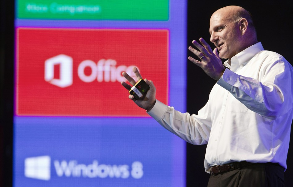 Microsoft Corp Chief Executive Ballmer