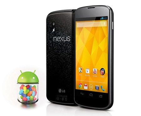 LG Nexus 4 First Smartphone to Receive Upcoming 4.2.2 Jelly Bean Update?