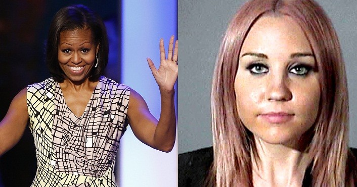 Michelle Obama and Amanda Bynes also made the list (Reuters)