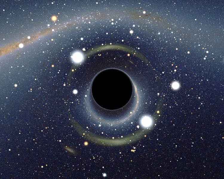 Illustration of a Black Hole