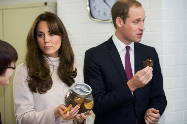 William and Kate visit Cambridge
