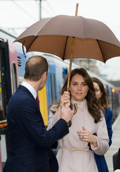 William and Kate visit Cambridge