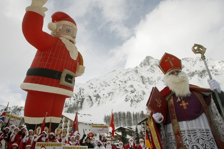 All hail Santa