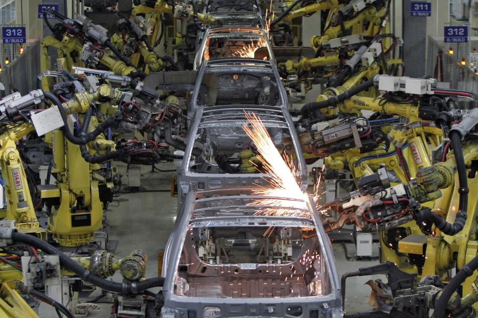 South Korea industrial output