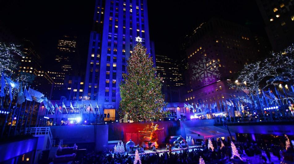 Rockefeller Center Christmas Tree Lighting Ceremony 2012
