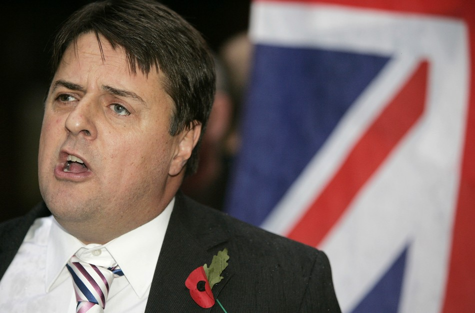 Nick Griffin referred to the B B discrimination case as heterophobia (Reuters)