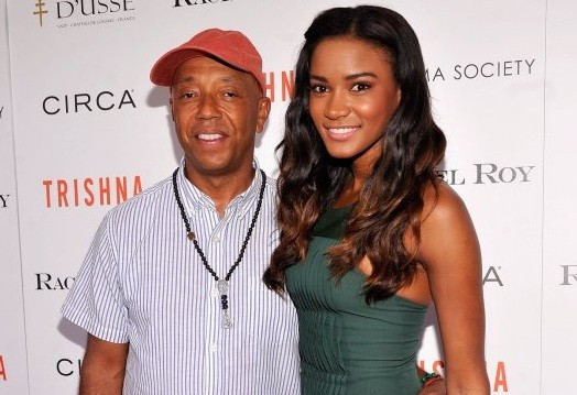 Russell Simmons and Miss Universe Leila Lopes.