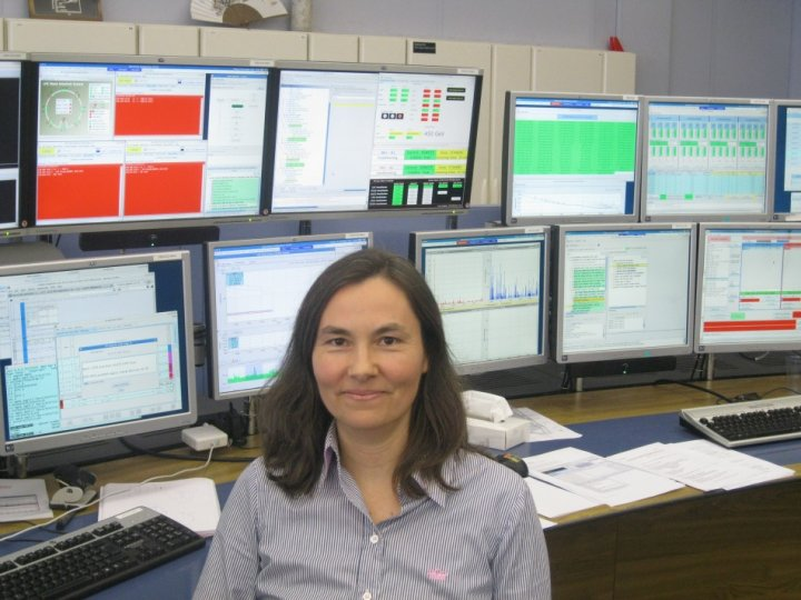 Barbara Holzer, accelerator physicist at CERN (Photo: Lianna Brinded)