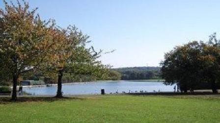 Dartmouth Park lake