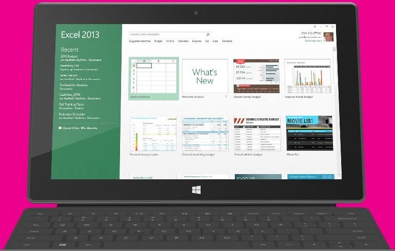 Microsoft Surface with Windows RT