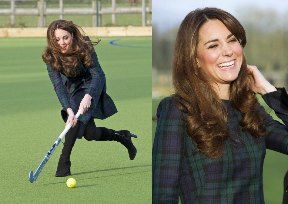 kate middleton at school