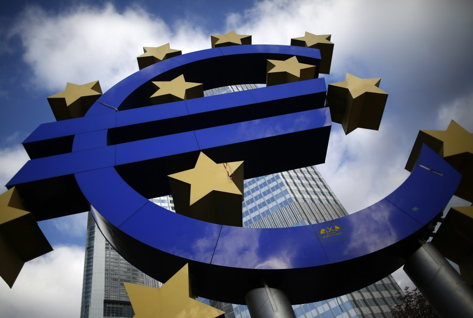 The Euro currency sign