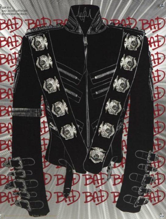 Michael Jackson costumes auction