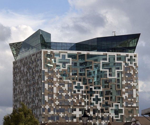 The Cube was opened in 2010 (Wiki Comms)