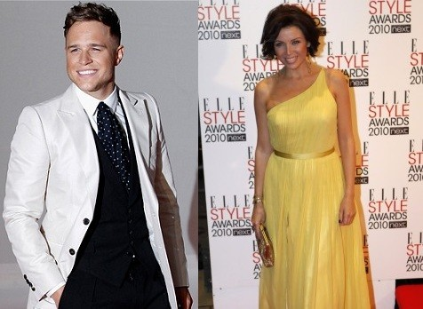 Olly Murs and Dannii Minogue