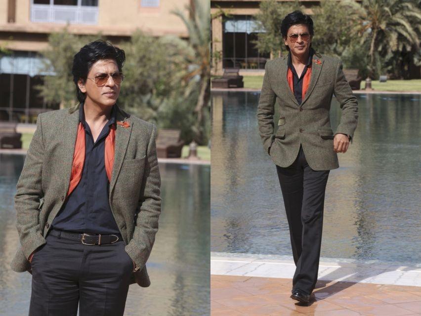 Shah Rukh Khan at Marrakech International Film Festival 2012