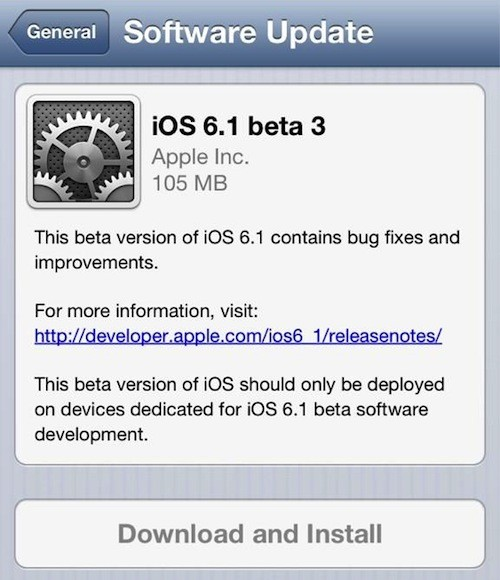 How to Jailbreak iOS 6.1 Beta 3 on iPhone 4, iPhone 3GS or iPod Touch 4G Using Redsn0w 0.9.15b3 [VIDEO]